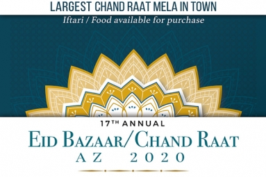 17th Annual Eid Bazaar / Chand Raat AZ 2020