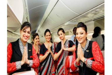 400 Air India air hostesses absconding