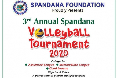 3rd Annual Spandana Volleyball Tournament 2020
