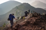 mount everest base camp, hikers, 77 indian hikers on their way to world s highest mt everest peak, Hikers