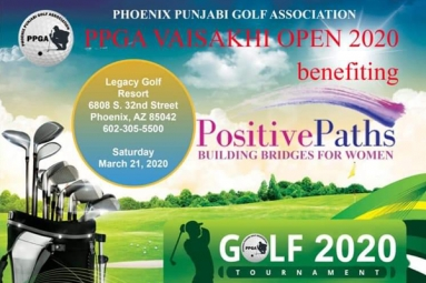 9th Annual Vaisakhi Open 2020 - Golf Tournament