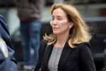 Felicity Huffman jailed, Hollywood Actress Felicity Huffman, hollywood actress felicity huffman pleads guilty in college admissions scandal, Felicity huffman