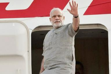 After surgical strike on black money Modi leaves to Japan
