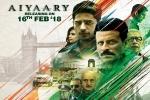 Sidharth Malhotra, Aiyaary official, aiyaary hindi movie, Jayantilal gada