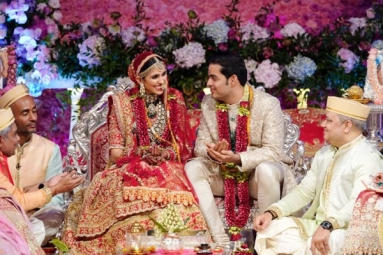 Akash Ambani-Shloka Mehta Gets Married in a Star-Studded Affair
