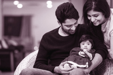 Allari Naresh Unveils his Daughter's Pic