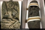 United States, Antique Statues, 2 antique statues worth over 3 5 crore repatriated to india, Manhattan