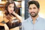 Ketika Sharma Locked to Romance Allu Arjun