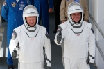 Astronauts and capsule arrive at International Space Station: Space X