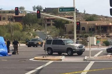 SUV Hops Curbs And Hips Pedestrian In Fountain Hills - 3 Dead, 1 Critical