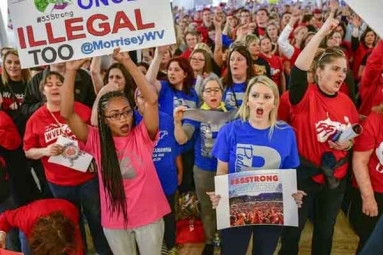 Protest Wednesday Over Low Pay By Arizona Teachers