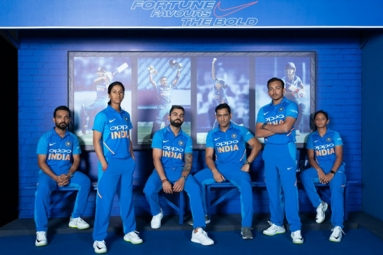 BCCI Unveils New Jerseys For Indian Cricket Teams