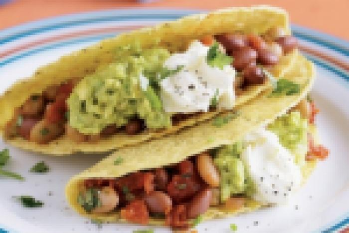 Bean Tacos recipe!