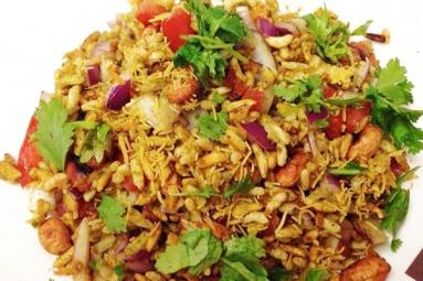 Bhelpuri! Spicy chat recipe