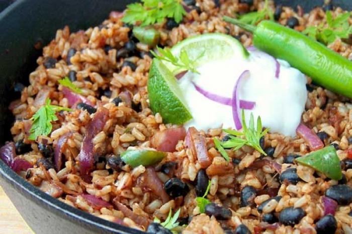 Black Beans rice recipe