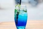 beverages, blue curacao syrum, blue curacao mocktail recipe, Lemon