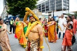 bonalu festivities in London, bonalu festivities in London, over 800 nris participate in bonalu festivities in london organized by telangana community, Charity