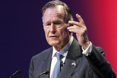 Ex-President H.W. Bush Hospitalized