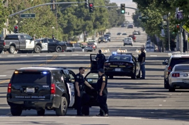 Deputy at California Police Station wounded amidst shootings