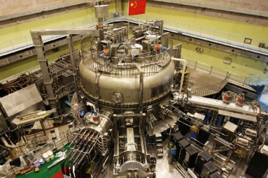 China's artificial sun EAST sets a new record