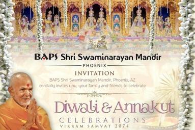 BAPS - Chopda Pujan Diwali & Annakut