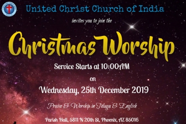 Christmas Worship - United Christ Church of India