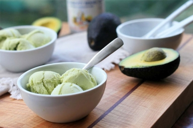 Creamy Avocado Ice Cream Recipe