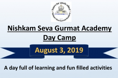 Day Camp for Kids - Nishkam Seva Gurdwara Sahib