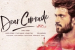 Bharat Kamma, Vijay Devarakonda next movie, dear comrade in re shoot mode, Rashmika mandanna