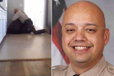 Video Captures : Deputy Of Arizona Holding Down A 15-Year Old