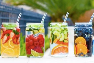 Burn body fat with detox waters