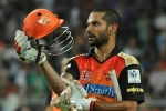 Shikhar Dhawan, Sunrisers Hyderabad vs Mumbai Indians, dhawan leads srh to a comfortable win, Kane williamson