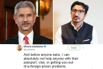 jaishankar, minister of external affairs, new foreign minister s son dhruva jaishankar says he can t help with passport woes in cheeky tweet, Ar rahman