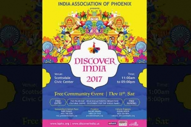 Discover India 2017 by India Association Of Phoenix on Nov 11