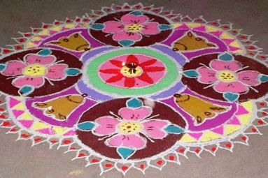 Diwali Kids Activities - Ekta Mandir