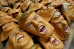 donald trump mask, hyperflesh trump mask, man wearing a donald trump mask robs jewelry stores in australia, Shoes