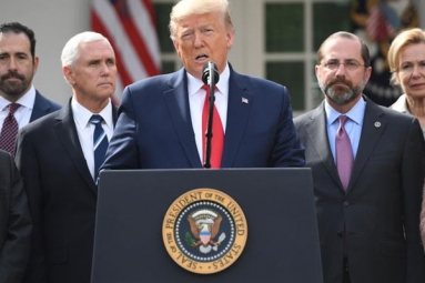 Donald Trump declares National Emergency in US over COVID-19
