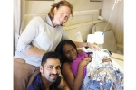 Dr Sij Hemal, Dr Sij Hemal, an indian american urologist helps deliver baby in an international flight, Chest pain