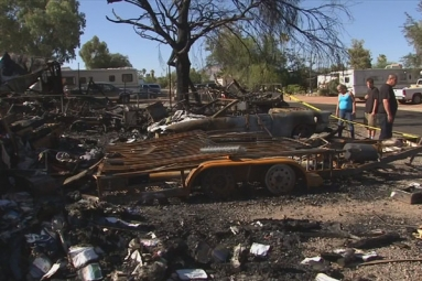 East Mesa Family Barely Escapes Major House Fire, Now Left With Huge Loss