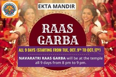 Ekta Mandir - Raas Garba 2018
