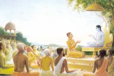 Bhagwat Katha in Ekta Mandir