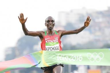 Rio Olympics champion Eliud Kipchoge to run in Delhi Half Marathon!