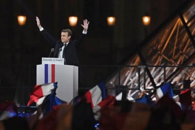 Macron becomes the youngest French President