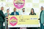 Mall Millionaire campaign in UAE, Indian expat in UAE, indian expat driver wins 1 million dirhams raffle in uae, Abu dhabi