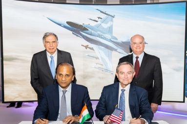 """Tata to jointly make F-16s with Lockheed Martin under """"Make In India"""""""