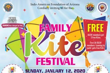 Family kite festival