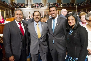 Four Indian American Members of Congress Sworn in