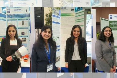 Four Indian American Teen Girls Awarded $25,000 Each for Inventions in Combating Air, Water Pollution