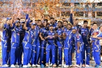 chennai super kings in IPL final, mumbai Indians, mumbai indians lift fourth ipl trophy with 1 win over chennai super kings, Mumbai indians