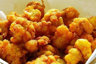 Easy Crispy Fried Cauliflower Recipe